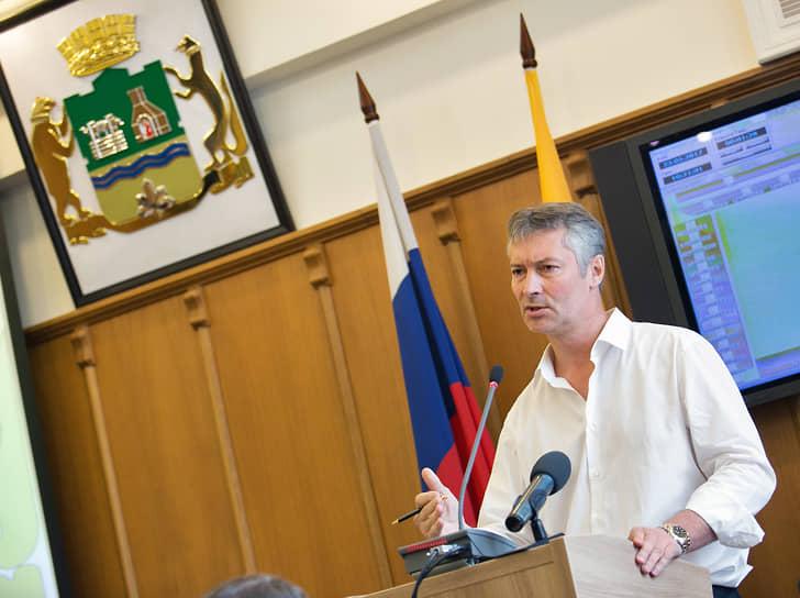 В сентябре 2013 года на прямых выборах главой Екатеринбурга — председателем городской думы был избран Евгений Ройзман. Ушел в отставку в 2018 году в знак протеста против отмены прямых выборов мэра