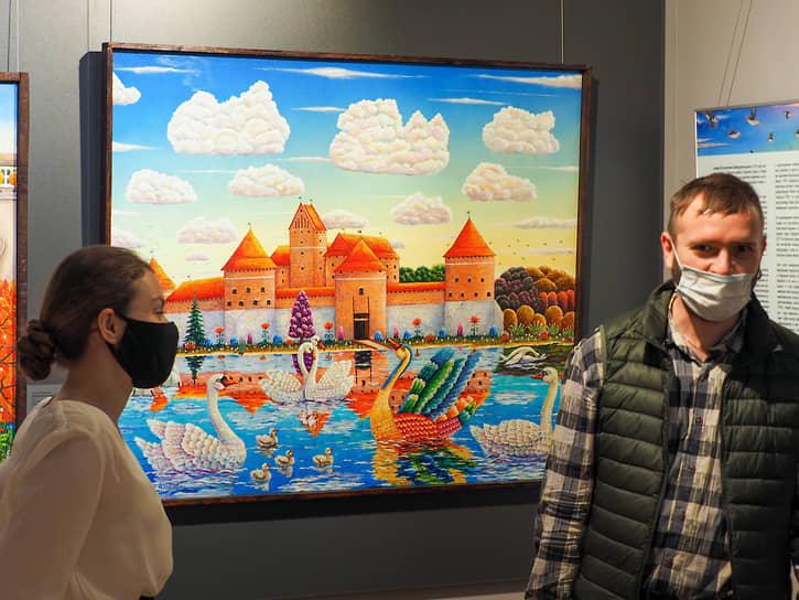 Выставка «Счастье навсегда!» художника Альфрида Шаймарданова в музее наивного искусства