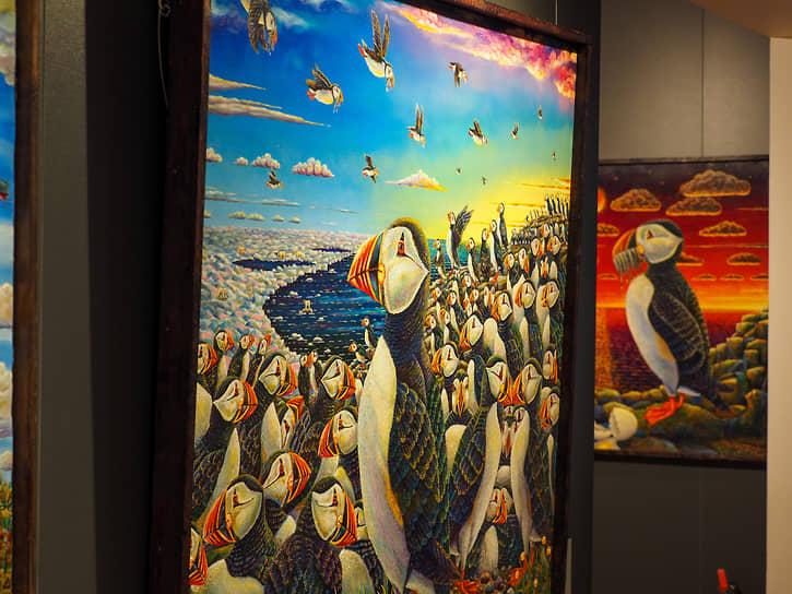 """""""Мир, который создает Альфрид Шаймарданов – это пространство, где сказка смешивается с реальностью"""", считают искусствоведы"""