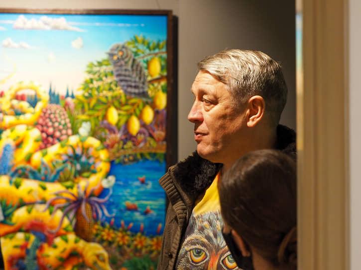 Наивный художник Альфрид Шаймарданов