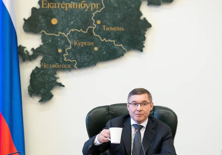 Полномочный представитель президента России в Уральском федеральном округе Владимир Якушев