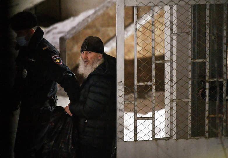Бывший схиигумен Среднеуральского женского монастыря Сергий арестован до 28 февраля. Защита намерена обжаловать это решение суда.