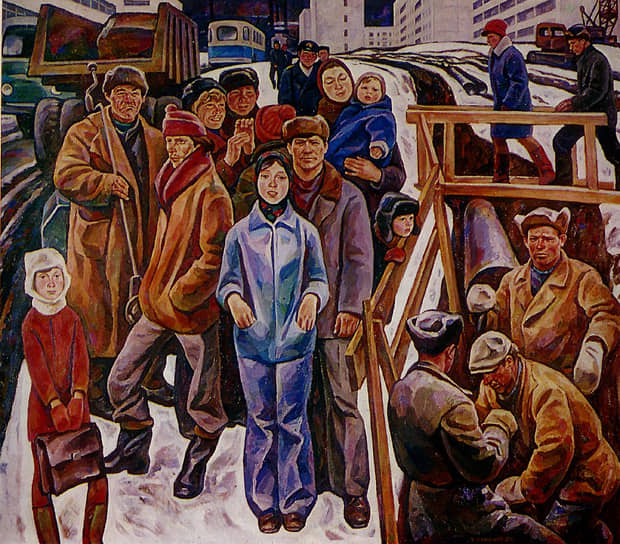 Игорь Симанов. «Окраина нового района Уралмаша». 1979 год