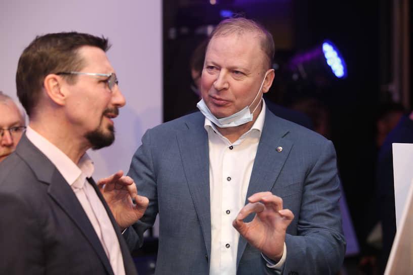 Сергей Плахотин и Виктор Шептий
