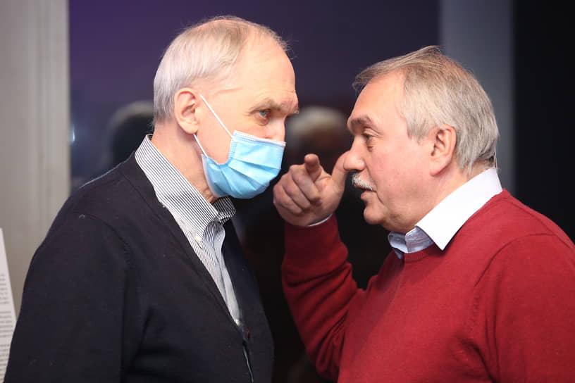 Николай Грахов и Александр Мих