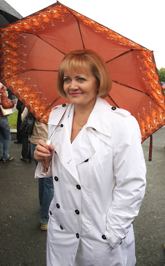 Людмила Бабушкина на праздновании Дня города Екатеринбурга в 2009 году