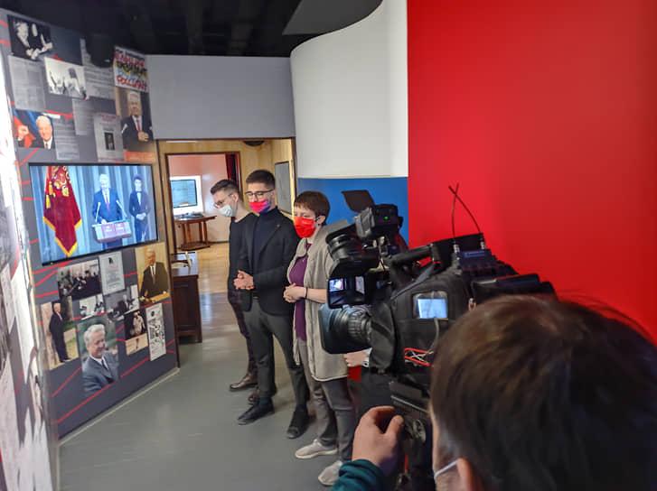 Специальная экспозиция, посвященная Борису Ельцину, открылась в музейно-выставочном комплексе Уральского федерального университета (УрФУ)