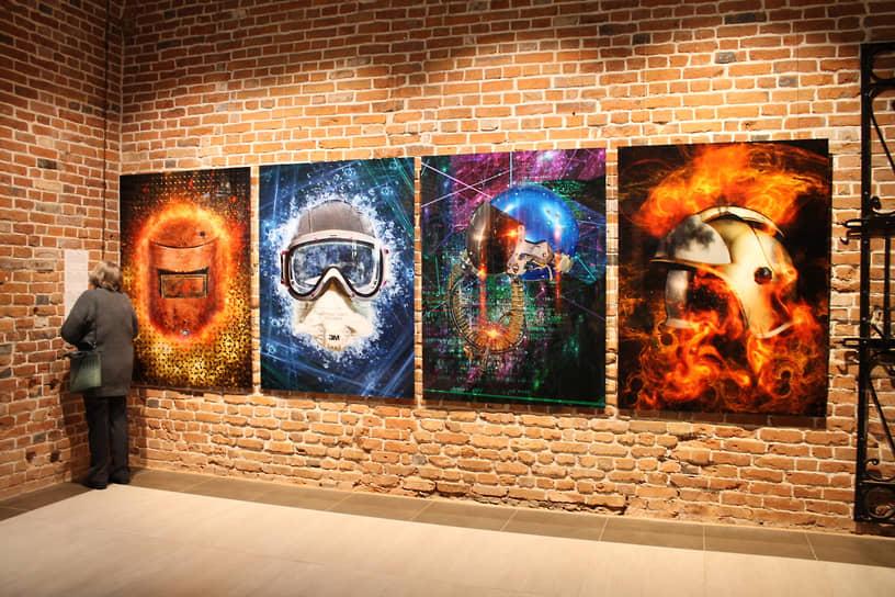 Выставка «Лицо божества» московской художницы Ольги Мичи.