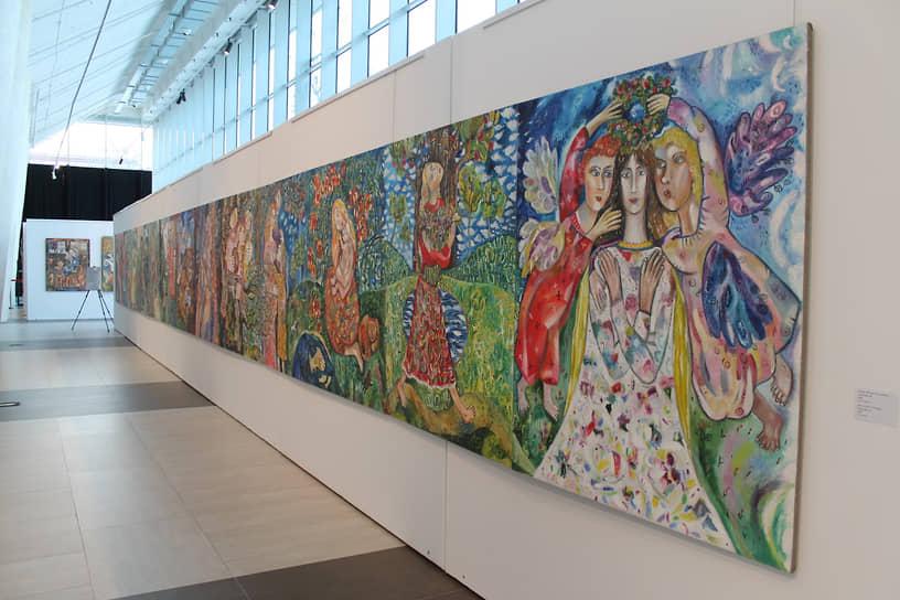Выставка «Крещение Руси» Алены Азерной