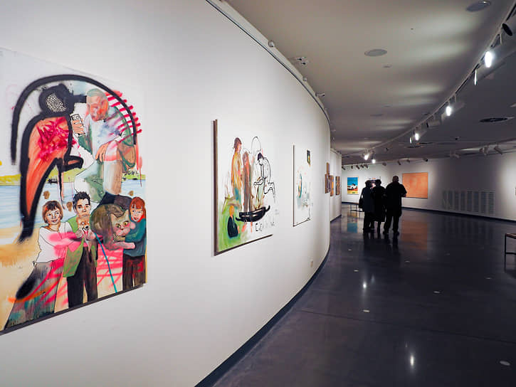 Выставка «Новая живопись Екатеринбурга». Арт-галерея Ельцин Центра