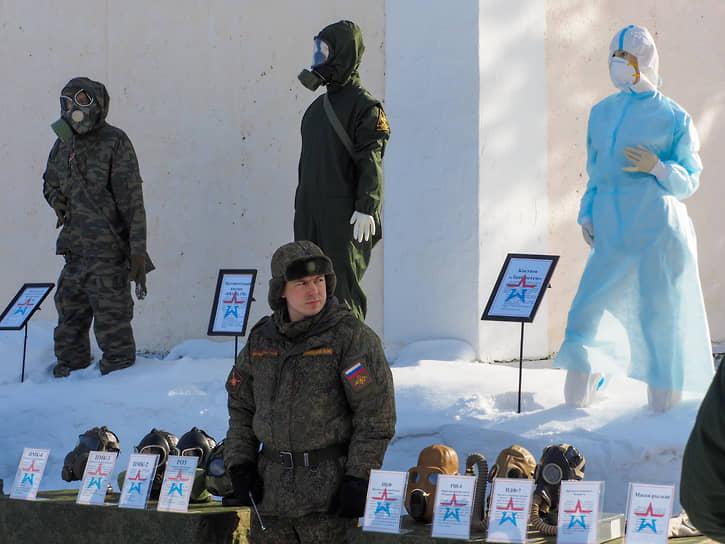 Отдельное соединение радиационной, химической и биологической защиты (РХБЗ) в Екатеринбурге.