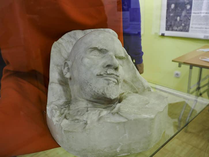 Посмертная маска Ленина