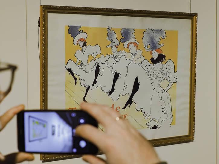 Выставка литографий французского художника Анри де Тулуз-Лотрека в галерее «Синара Арт»
