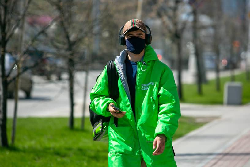 Екатеринбург во время режима самоизоляции из-за опасности распространения коронавирусной инфекции COVID-19