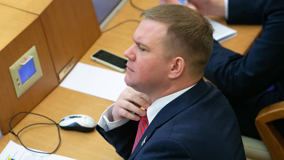 Депутат законодательного собрания Свердловской области Александр Коркин.