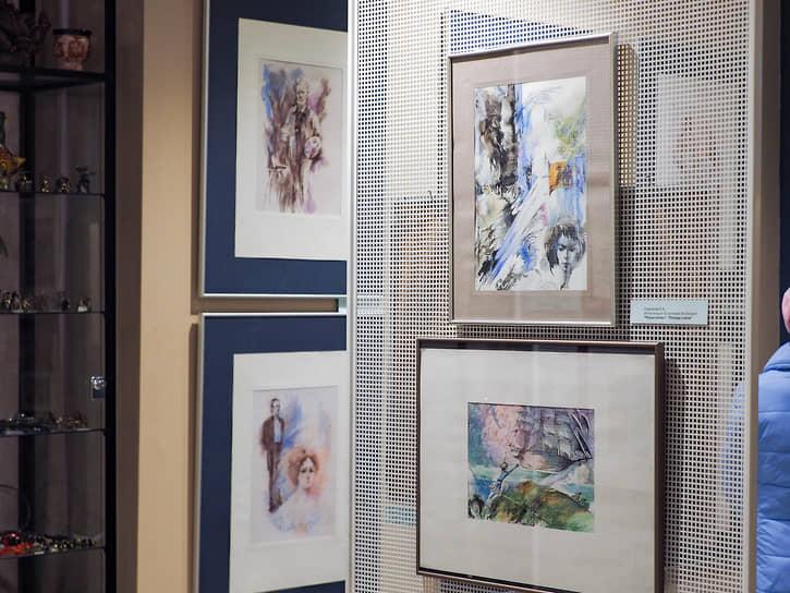 Выставка рисунков Евгении Стерлиговой в галерее «ПоЛе» в Екатеринбурге.