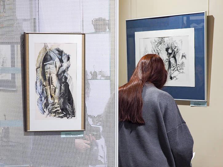 Выставка рисунков Евгении Стерлиговой в галерее «ПоЛе»