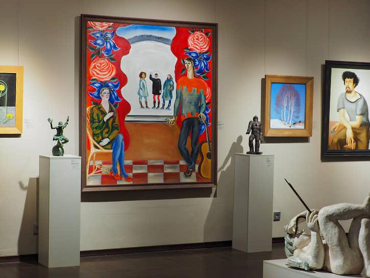 Выставка «Отечественное искусство советского периода» охватывает период от 1920-х – до начала 1990-х годов