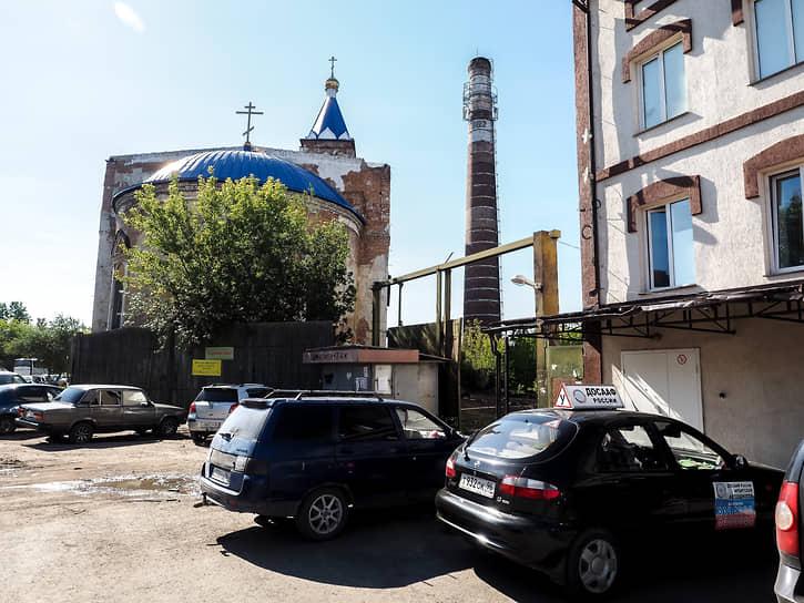 Храм в честь Сретения Господня в Ирбите