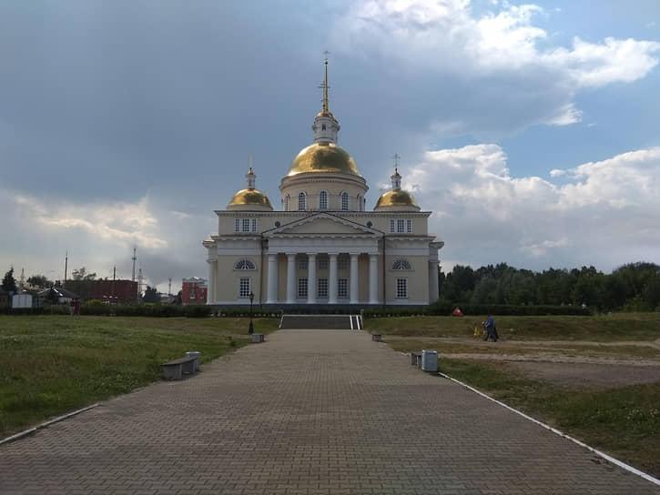 Собор Спаса Преображения в Невьянске