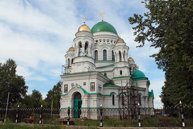 Церковь Александра Невского в Нижней Салде