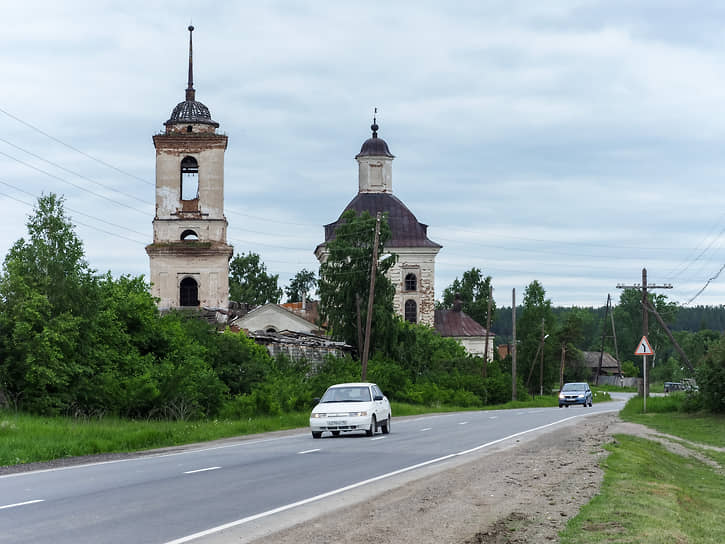 Церковь Архангела Михаила в селе Новопышминское