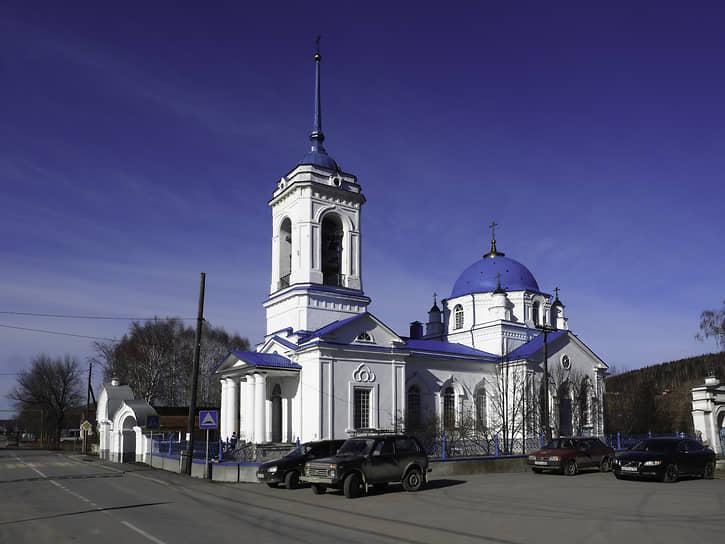 Знаменская церковь в Верхнем Тагиле