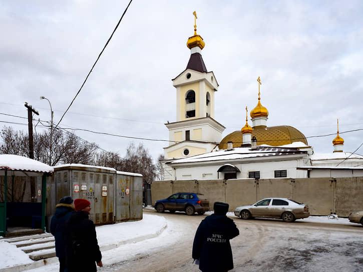 Храм в честь Святой Живоначальной Троицы на Шарташе