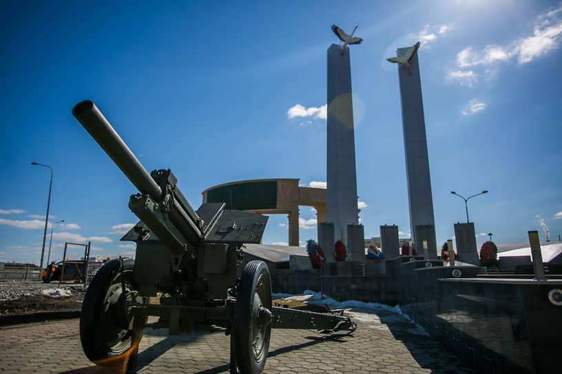 Мемориальный памятник «Журавли» в Верхней Пышме