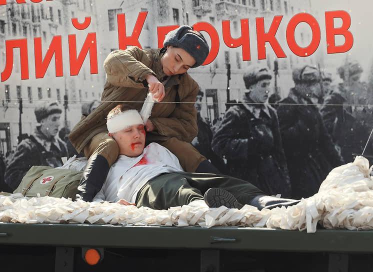 Театрализованная автоэкспозиция «Долгий путь Победы»
