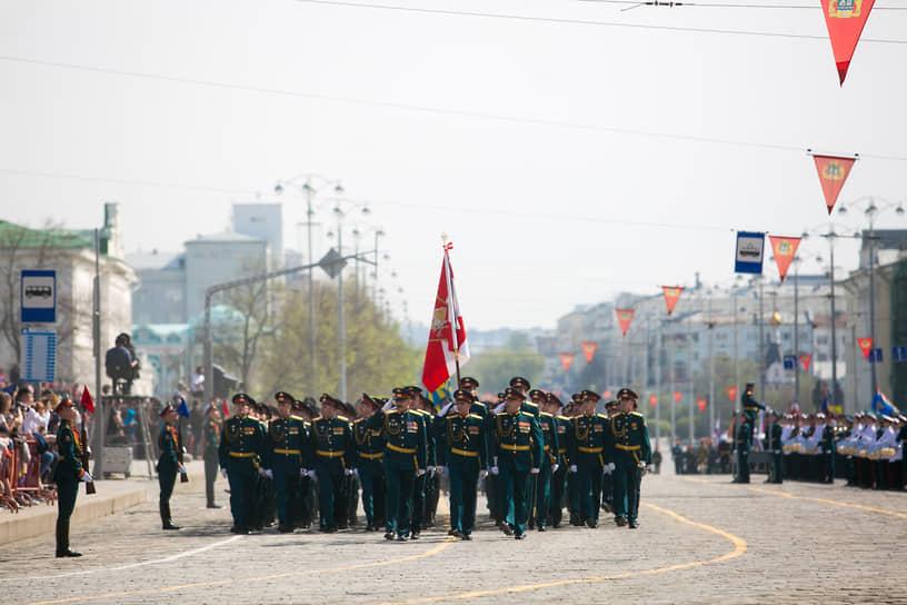 Военный парад на площади 1905 года
