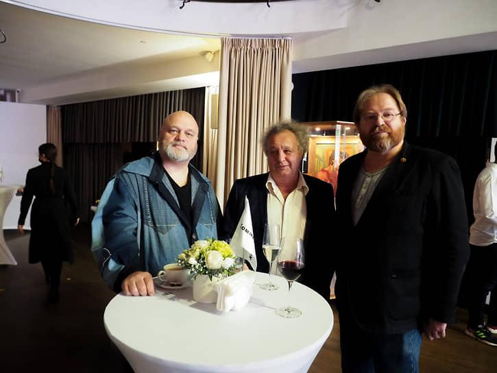 Слева направо: Алексей Федорченко, Евгений Горенбург, Евгений Зашихин