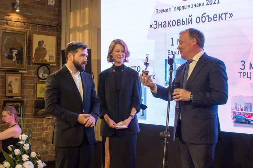 В номинации «Знаковые объекты» победителем стал Ельцин Центр