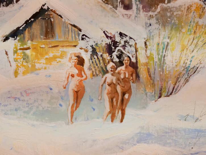 Выставка «О чем молчат картины» Никаса Сафронова