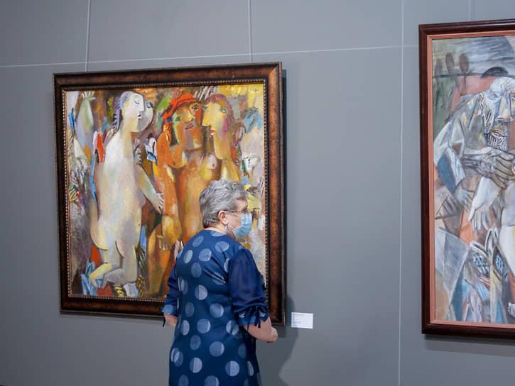 Открытие сезона в международном центре искусств «Главный проспект»: персональная выставка Миши Брусиловского