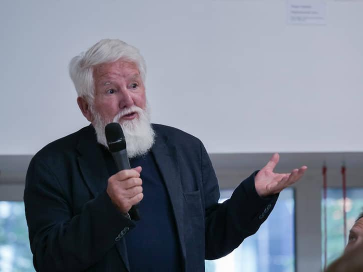 Президент ассоциации профессионального экслибриса, коллекционер и исследователь экслибриса Бенуа Жюно (Швейцария)