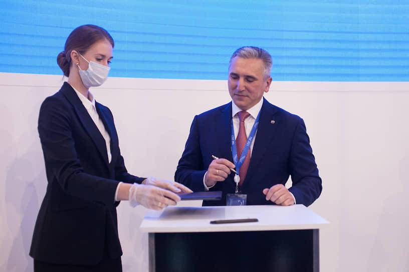 Тюменский нефтегазовый форум TNF (ТНФ-2021). Губернатор Тюменской области Александр Моор