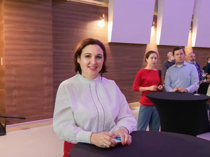 Генеральный директор Синара Центра Елена Теребенина