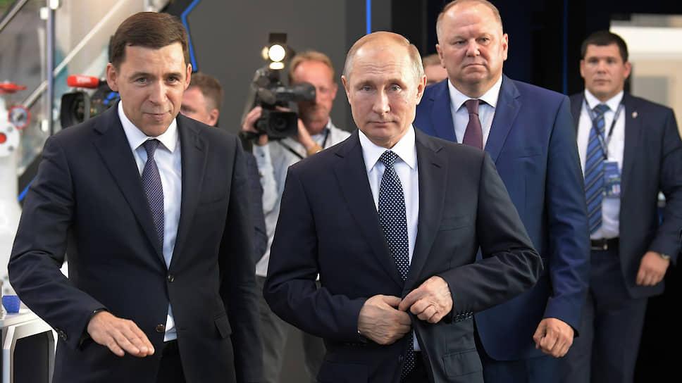 «Иннопром» разогнался до десяти / Промышленная выставка в Екатеринбурге отметила юбилей
