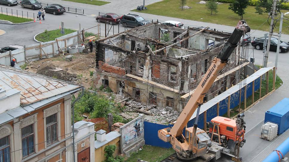 Усадьбу Звонарева около ЖК «Ривьера» планируют восстановить и переделать в жилье