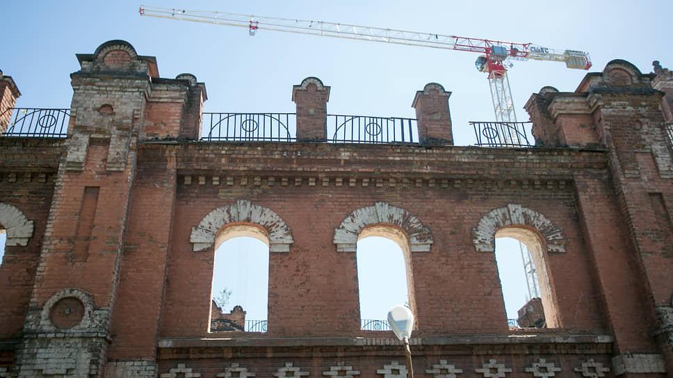 Так фасад мельницы Борчанинова выглядел до начала реставрационных работ