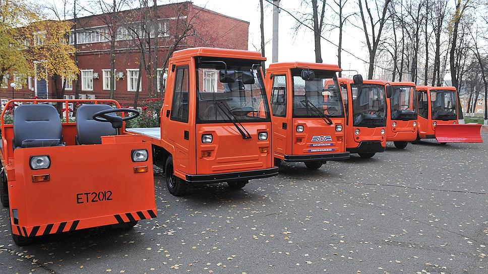 Электромобили предназначены для городского хозяйства
