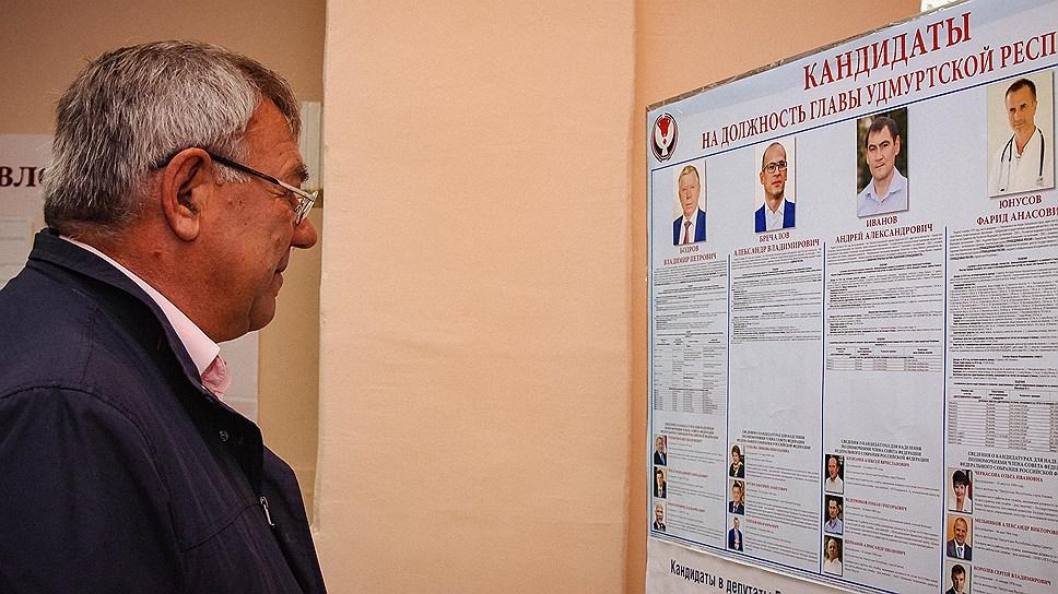 Итоги выборов депутатов госсовета Удмуртии