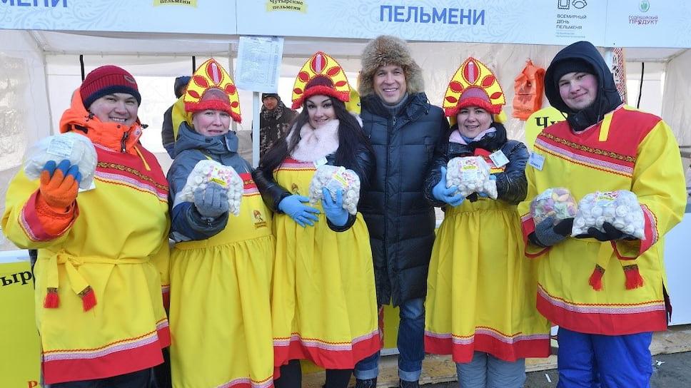 8 февраля на Центральной площади Ижевска прошел заключительный день фестиваля «Всемирный день пельменя»