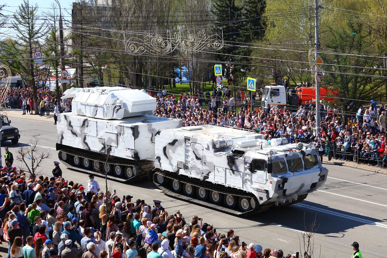 Арктический «Тор» впервые принимал участие в параде в Ижевске в 2019 году.