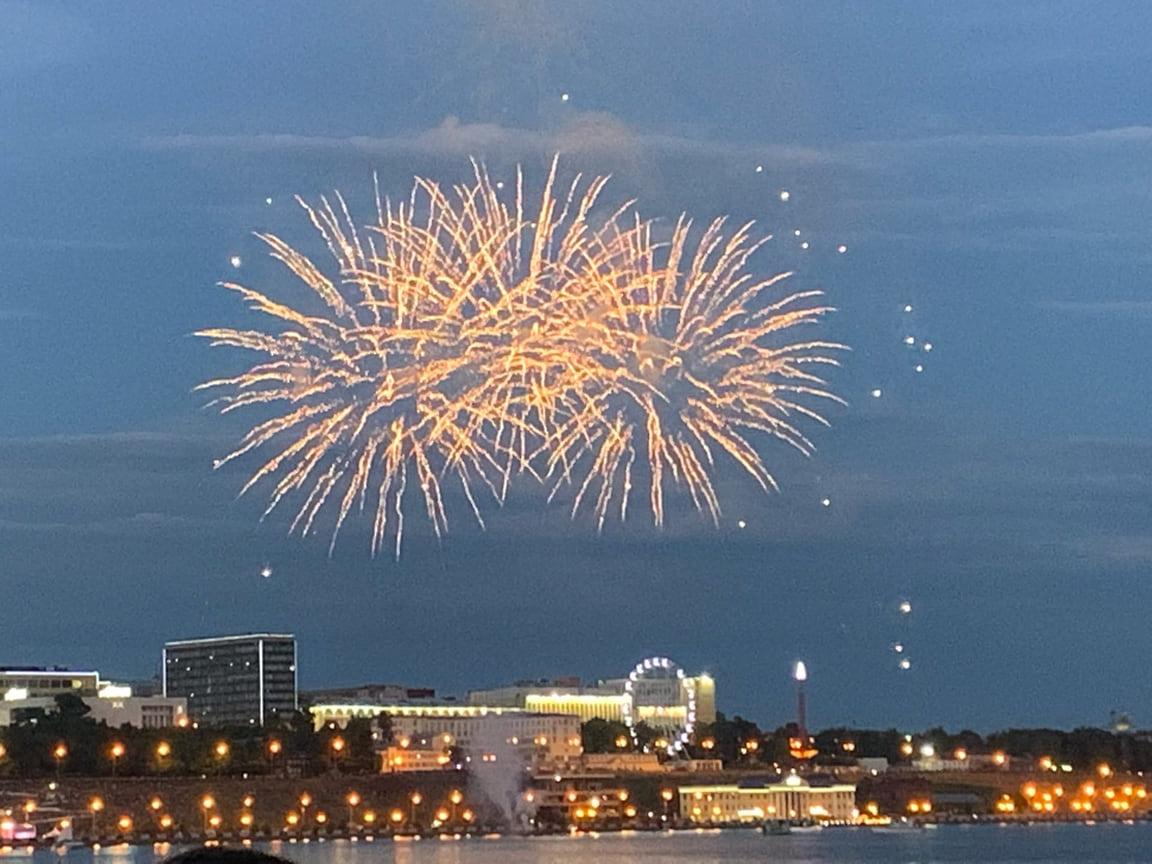 12 июня в Ижевске прошли мероприятия, приуроченные ко Дню города и Дню России.