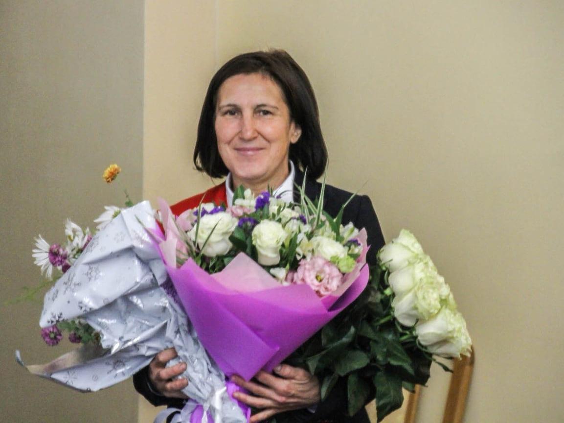 Чемпионка Зимних Олимпийских игр по биатлону в Норвегии в 1994 году Надежда Таланова