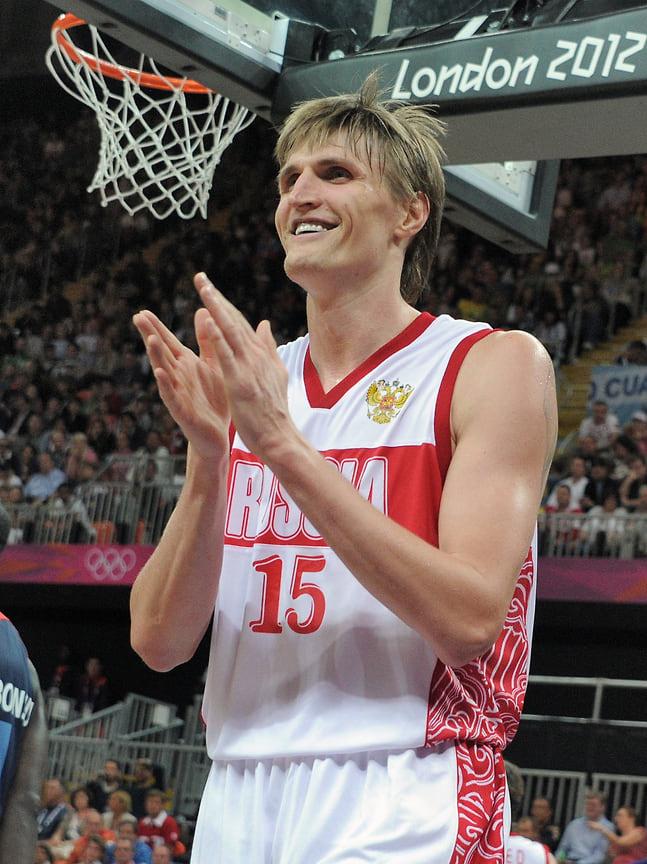 Баскетболист Андрей Кириленко завоевал бронзовую медаль на Олимпиаде 2012 в Великобритании.