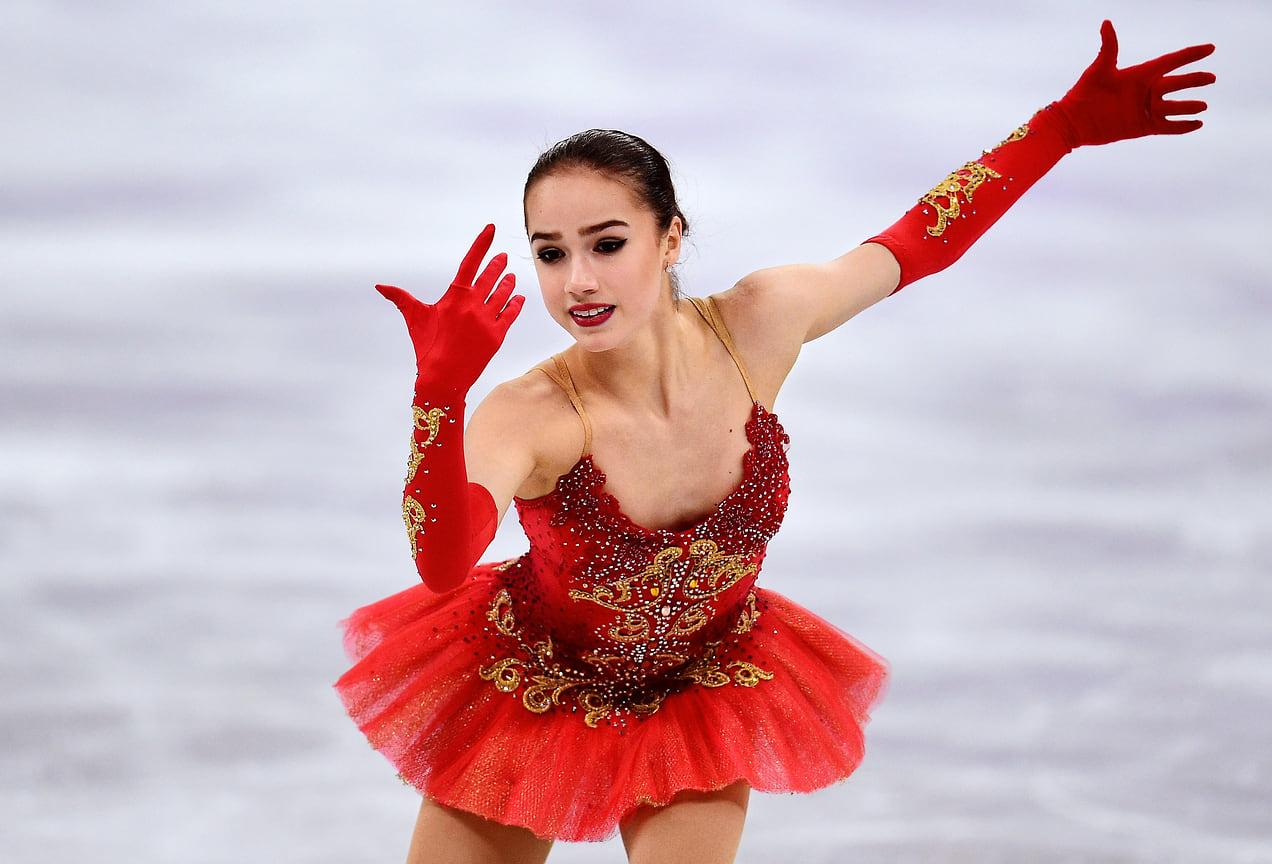 Фигуристка Алина Загитова стала чемпионкой по одиночному катанию на Олимпиаде в Южной Корее, 2018 год. Тогда же она стала серебряной призеркой в командном соревновании.