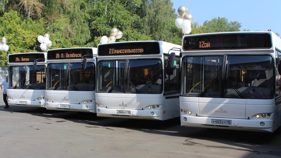 Новые автобусы в Ижевске